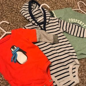 Carter's Long Sleeve Onesie's Bundle